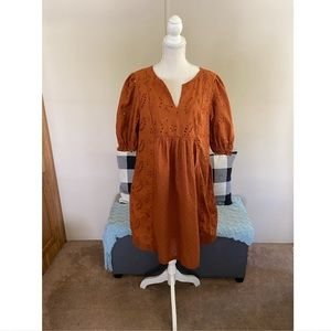 NWT Universal Thread Boho Babydoll Dress XL